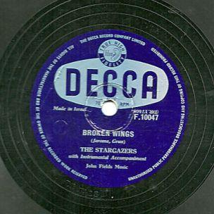 very-rare-1953-uk-1-the-stargazers-78-broken-wings-make-it-soon-decca-f10047-ex_3724722