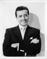 Vic Damone in publicity portrait, 1951. (Photo by Metro-Goldwyn-Mayer/Getty Images)